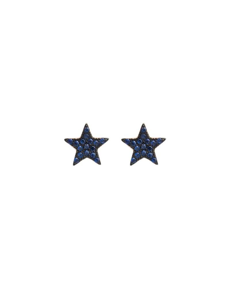 FEELINGS  orecchini stelle nere