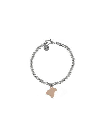 FEELINGS bracciale con orsetto rosato