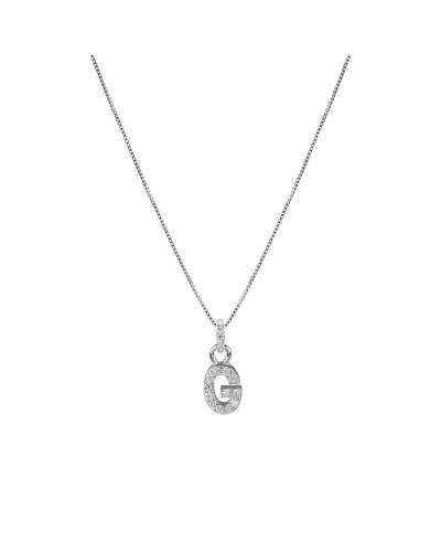 FEELINGS collana argento con iniziale G