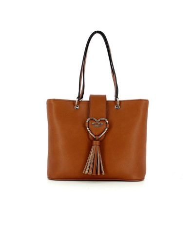 Borsa shopping My Twin cuore con pendente