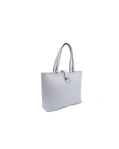 Shopping My Twin con chiusura zip e fascia con cuore  in metallo