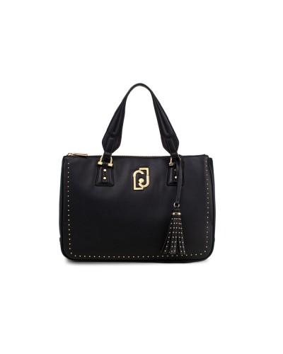 Bauletto  Liu Jo Donna nero una chiusura con zip metallica. Il modello presenta borchie applicare.