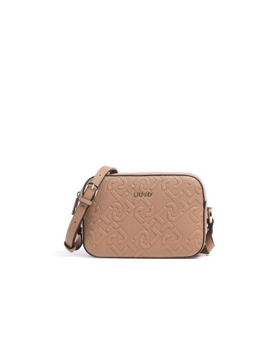 Borsa Tracollina Liu Jo logata in ecopelle indian tan