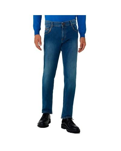 Jeans Trussardi Uomo 5 tasche blu denim