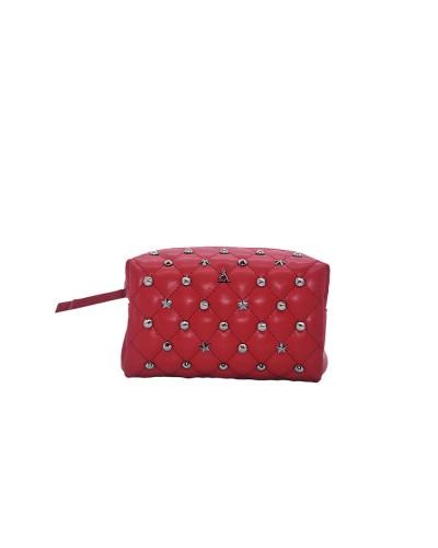Beauty L'Atelier Du Sac donna con applicazioni metalliche rosso