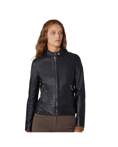 JACKET BIKER SOFT TOUCH LEATHER