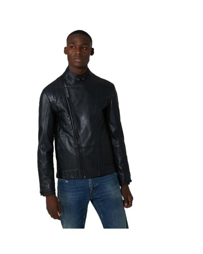JACKET MOTORCYCLE BRIGHT LEATHER