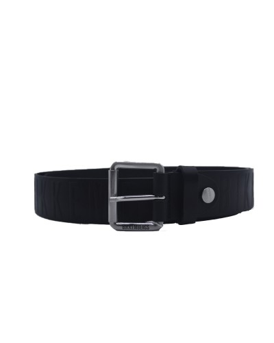 Cintura Bikkembergs uomo 4 cm nera