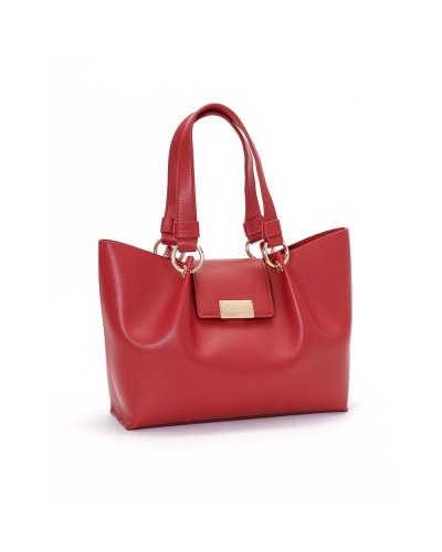 MADRID SHOPPER MD UNLINED SMOOTH ECOLEATHER