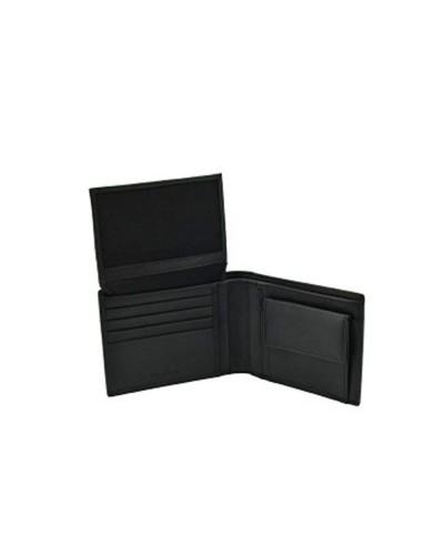 Portafoglio Trussardi Collection in pelle  con porta spicci e porta documenti