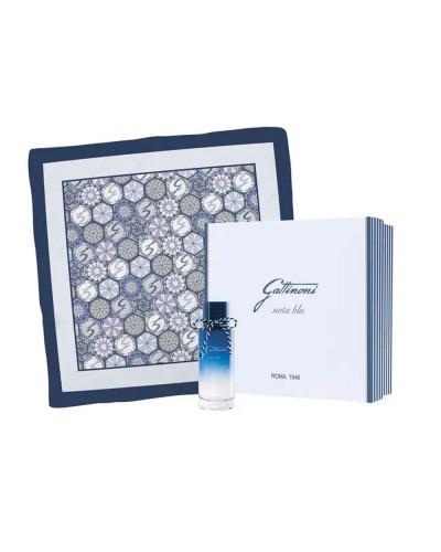 Cofanetto Gattinoni nota blu donna eau de parfum 75 ml con foulard