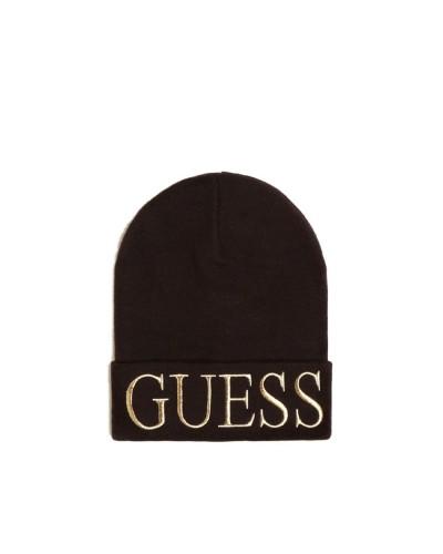 Cappello Guess donna con maxi logo anteriore nero