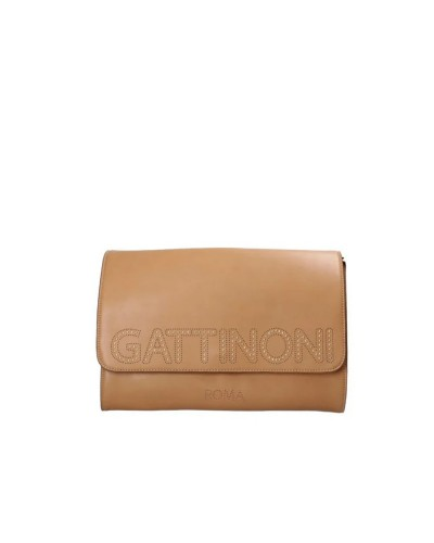 BORSA Gattinoni Harper Clutch Camello