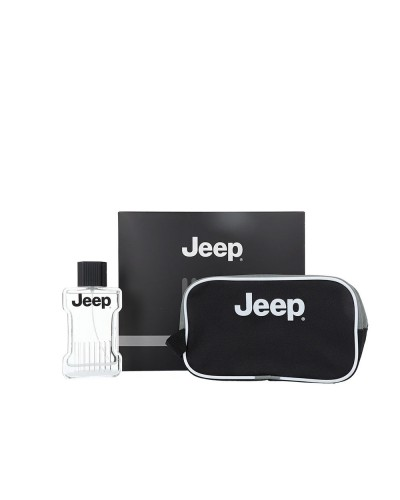 Cofanetto Jeep freedom uomo con profumo eau de toilette 100 ml e beauty con logo