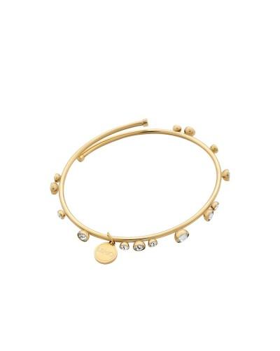 Bracciale Liu Jo gioiello in acciaio dorato