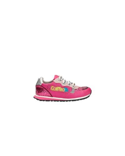 Sneakers Liu Jo Me contro Te rosa  con luci