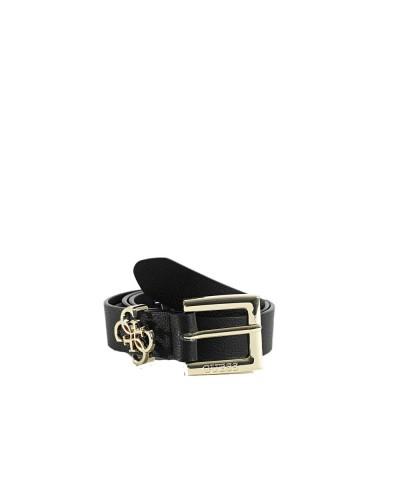 Cintura Guess Donna in similpelle con fibbia dorata passante logato in metallo dorato