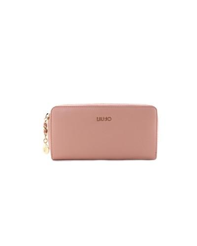 Portafoglio Liu Jo donna con zip rosa