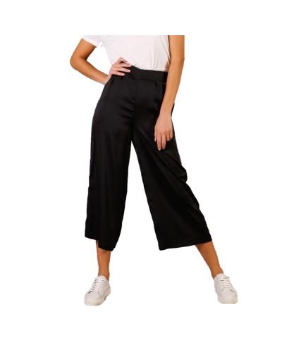 Pantalone Mimì Muà donna cropped effetto satin
