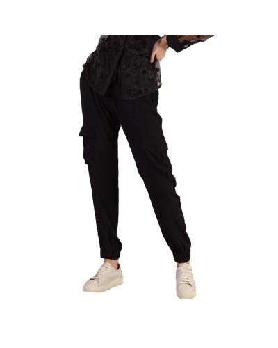 Pantalone Mimì Muà donna con tasche in crepe