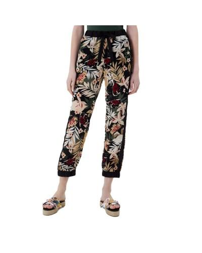 Pantalone Liu Jo donna con cinto elastico con coulisse