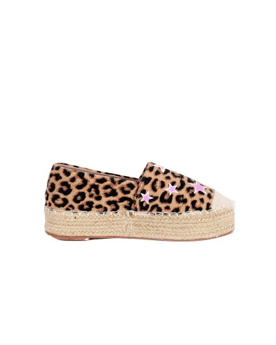 Espadrillas Gio Cellini leopardate donna