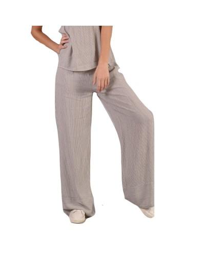 Pantalone Mimì Muà donna palazzo a righe