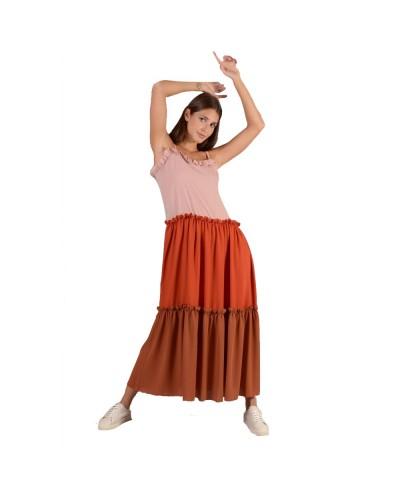 Abito Mimì Muà donna tricolore con rouges