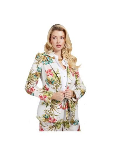 Giacca Guess Marciano donna con fiori stampati