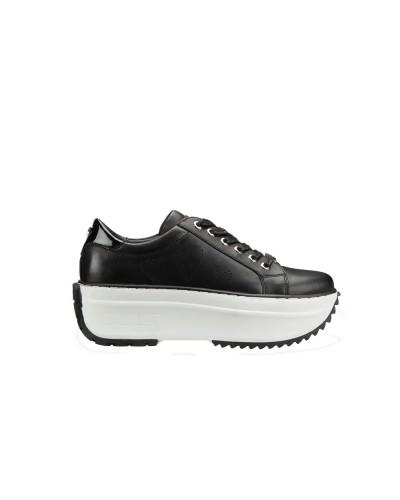 Scarpa Sneakers Cult donna con para alta e cuori laterali