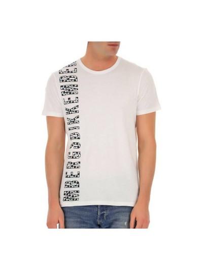 T-Shirt Bikkembergs uomo 100% cotone con logo stampato