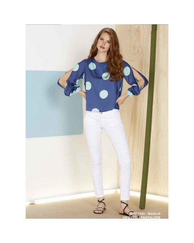 Jeans YNot? Donna 18PEY098 Bianco