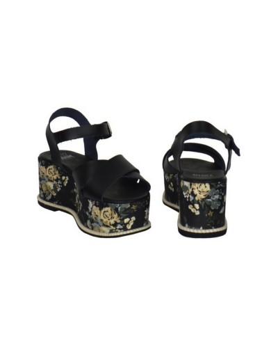 Damen sandalen My Twin By Twinset DS8TMS Schwarz