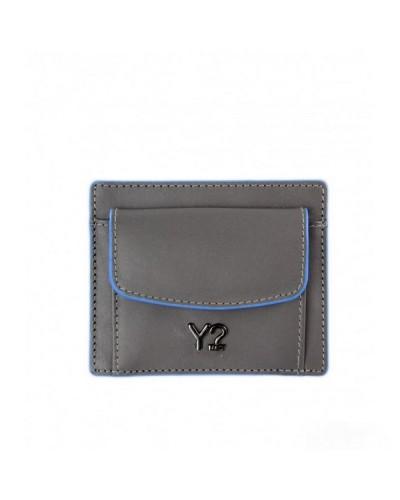 Cartera De YNot? Clave Bolso Hombre BIZNA12 Gris L. Azul