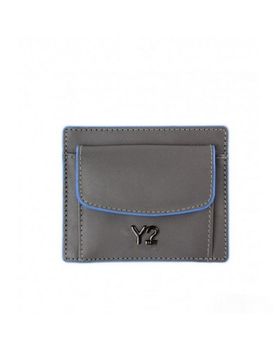 Portfolio YNot? Key Purse Man BIZNA12 Grey L. Blue