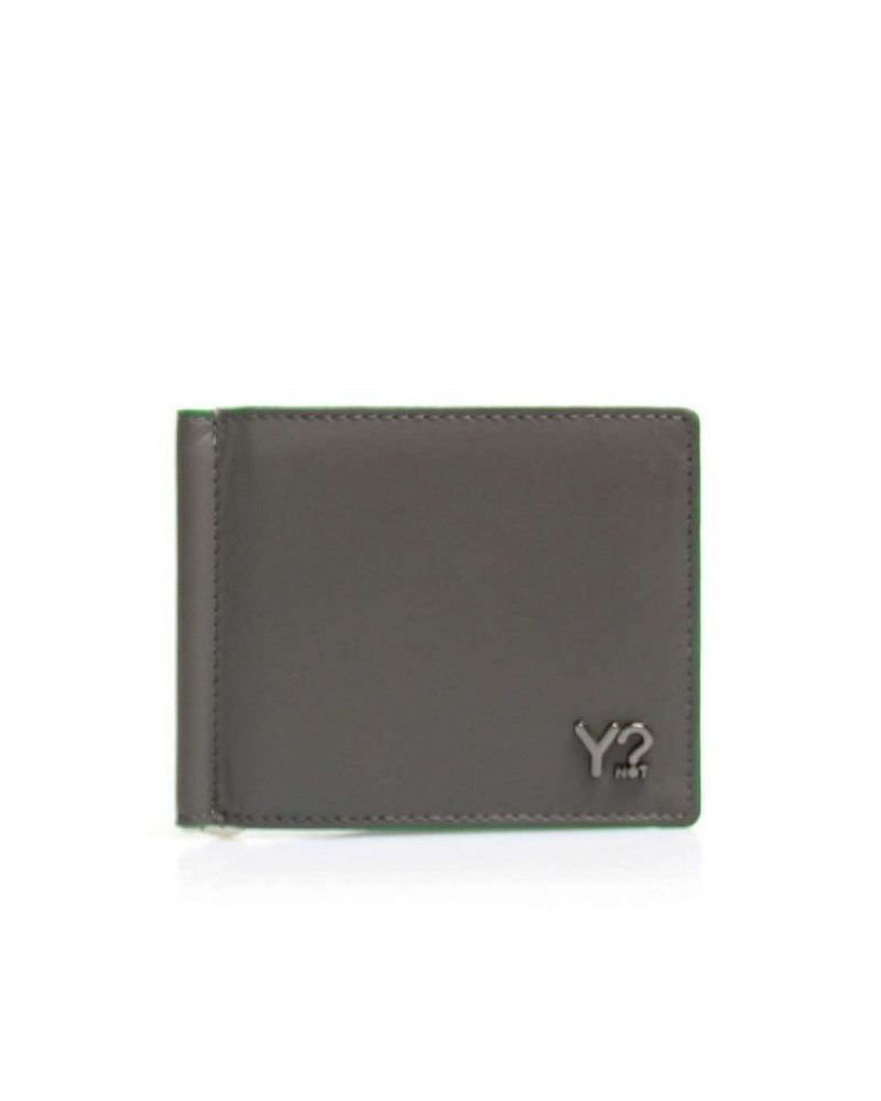 Portafoglio YNot? Dollar Wallet Uomo BIZNA11 Grey Green