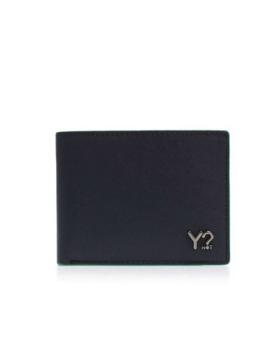 Portfolio YNot? Wallet Flap Coin Small Mann BIZNA06 Navy Green