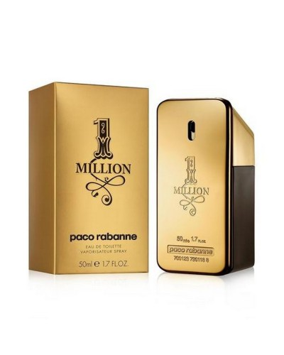 Paco Rabanne 1 Million Eau De Toilette Uomo 50 ML Spray