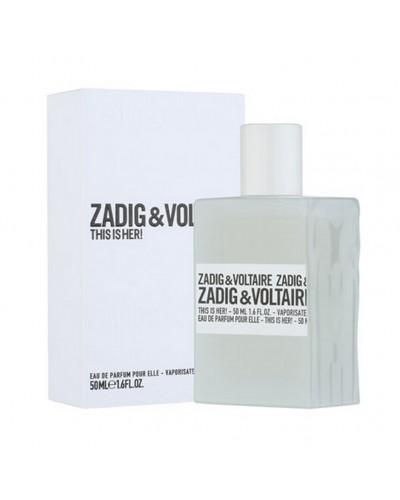 Zadig & Voltaire This is Her 100ML eau de parfum