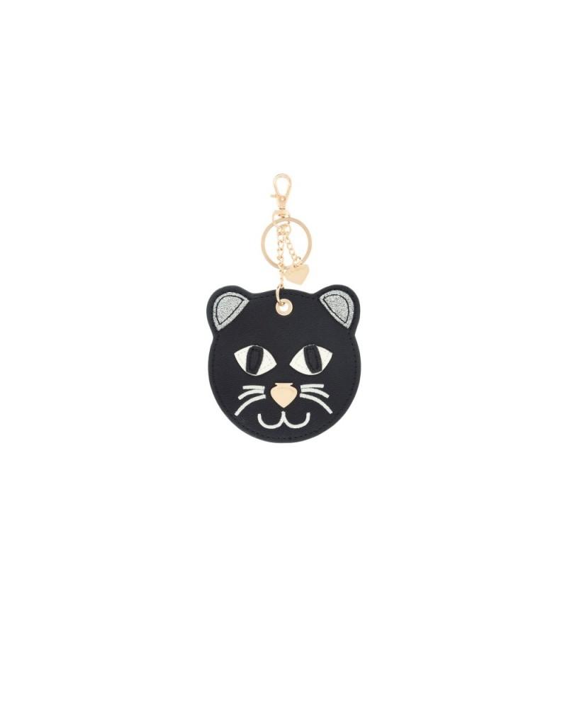 Le Pandorine Tag Animals THERAPIST Cat Black