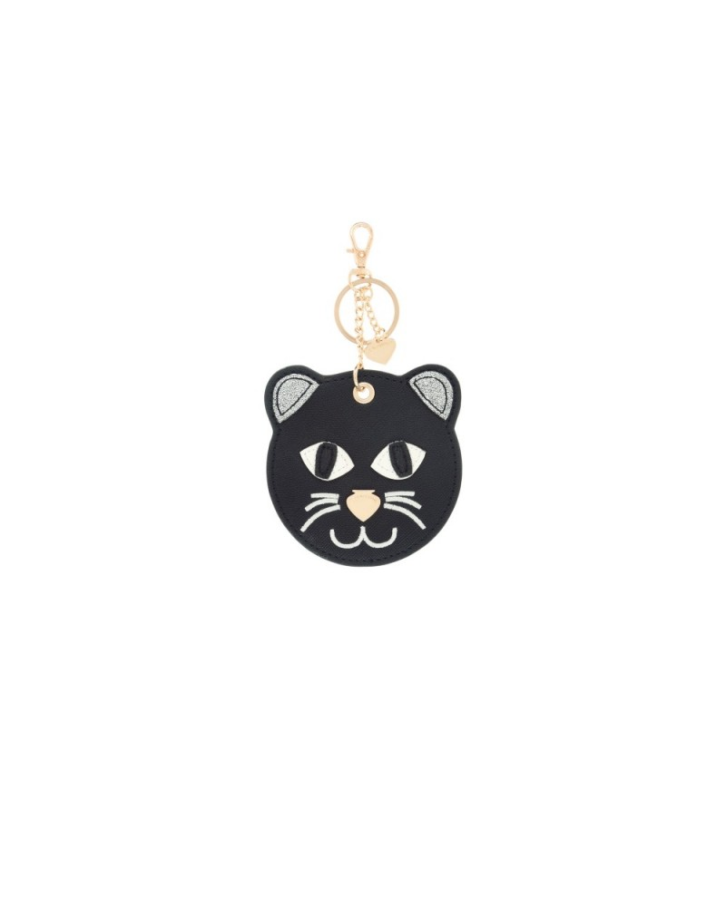 Pandorine Tag Animals THERAPIST Cat Black