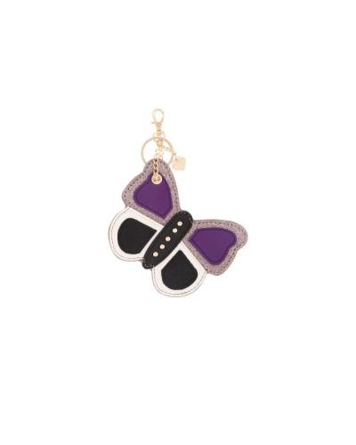 Pandorine Animaux Tag PUISSANCE Papillon Violet