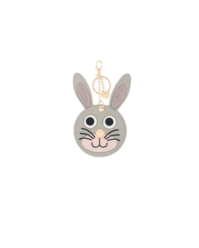 Le Pandorine Tag Animals THERAPIST Rabbit Grey