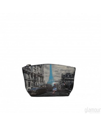 YNOT woman Clutch bag Blue Rain