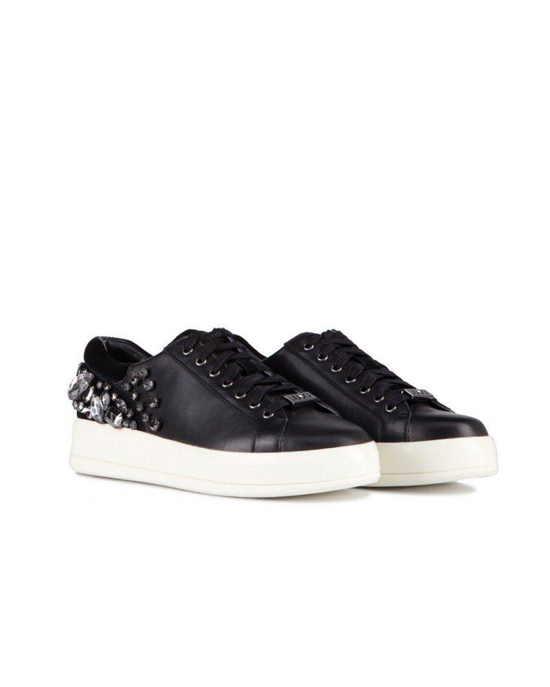 b25cc91fc3 Liu Jo Sneakers Kim 08 Black - Karisma Pelletteria