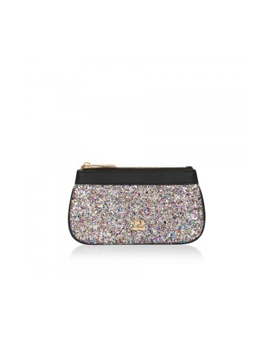 Numeroventidue Monkey Backpack Clutch Bag Glitter Multicolor