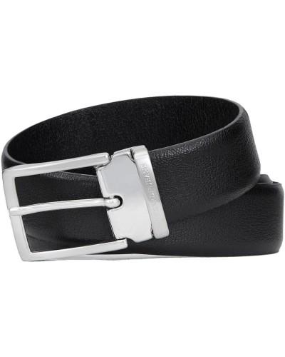 Hommes ceinture Trussardi Jeans 71L00011 9Y099999 Noir