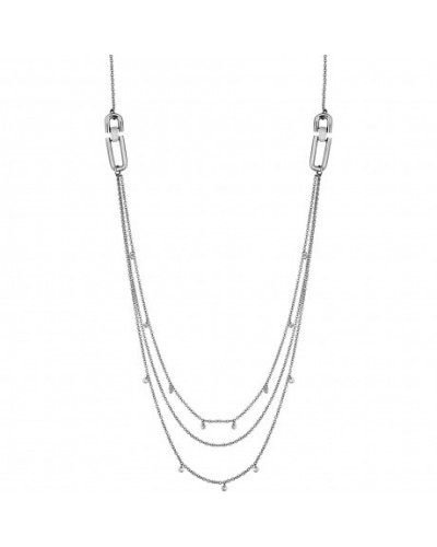 LIU JO necklace woman Steel