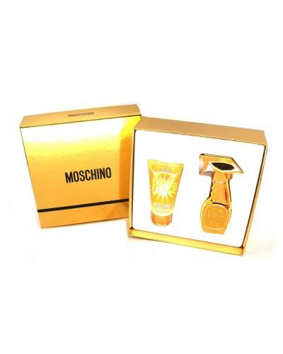 Cofanetto Regalo Moschino Fresh Gold donna