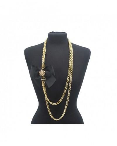 Halskette Bijoux Damen Loristella 1109 Schwarz